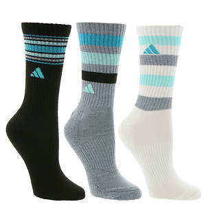 Danubio Automáticamente Por ley  adidas Retro II 3-pack Crew Socks (women's) - Color Out of Stock | FREE  Shipping at ShoeMall.com