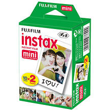 FUJIFILM 20-Pack Instax Mini Instant Camera Film