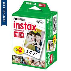 FUJIFILM 20-Print Instax Mini Instant Camera Film