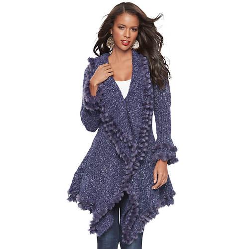 Statement Sweater Coat