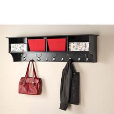 "60"" Wide Hanging Entryway Shelf"