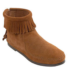 Minnetonka Back Zip  Hardsole (Women's)
