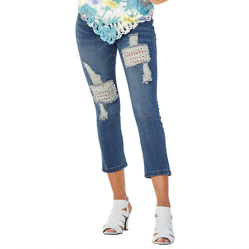 Crochet Patch Capri