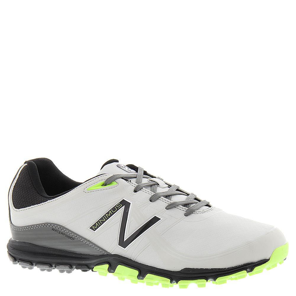New Balance Minimus Golf shoe (Men's) Grey-Green-Microfiber