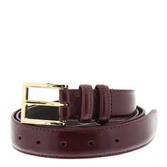 "Men's 1-1/4"" Gold-tone Buckle Belt"