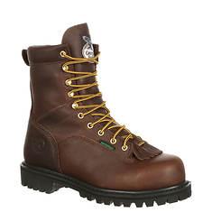 "Georgia Boot Low Heel Logger 8"" Soft Toe (Men's)"