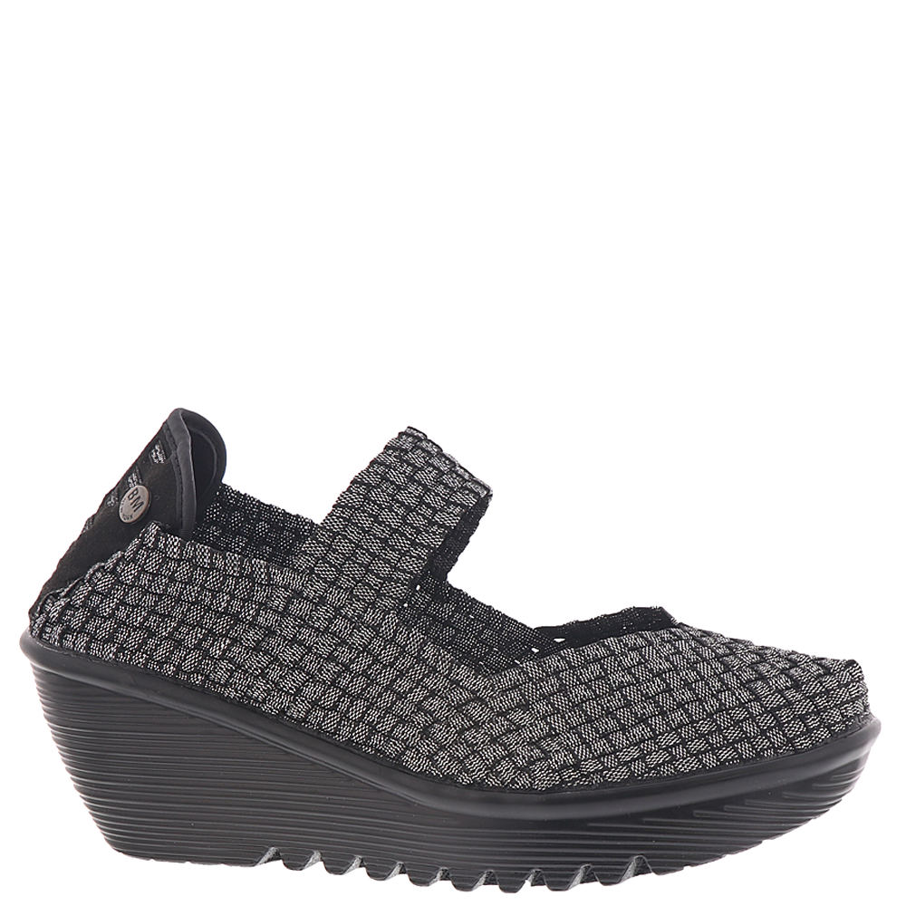 *There\\\'s endless comfort and casual style woven into this cool wedge *Woven stretch fabric upper *Slip-on style *Cushioned Memory Foam footbed *Rubber outsole *2-1/4\\\