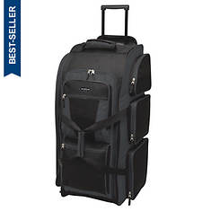 """Travelers Club 30"""" Collapsible Upright Duffel Bag"""