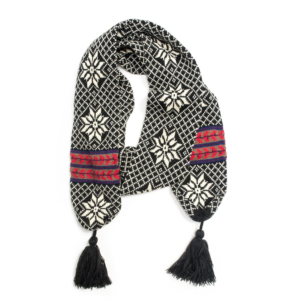 Vintage Scarves- New in the 1920s to 1960s Styles MUK LUKS Folklore Fabulous Scarf Womens $27.95 AT vintagedancer.com