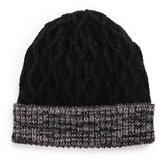 MUK LUKS Cable Cuff Cap (Men's)