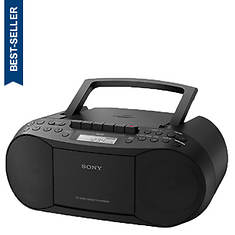 Sony CD/Cassette Boombox With AM/FM Radio