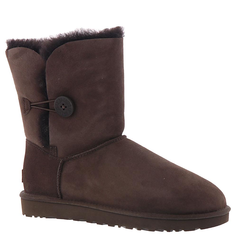 UGG Bailey Button II Women's Brown Boot ...