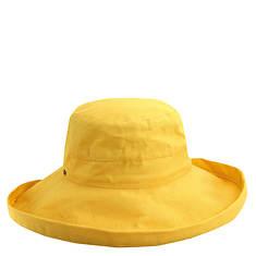 Scala Collezione Women's Cotton Big Brim Hat