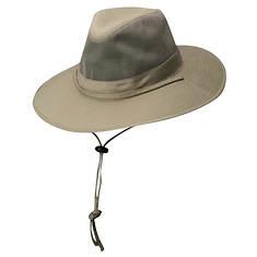 DPC Outdoor Design Men's Mesh Crown SPF Outback Hat
