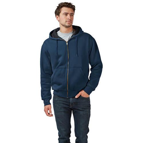 Men's Thermal-Lined Full-Zip Hoodie