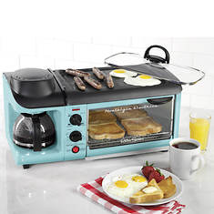 Nostalgia Electrics 50s-Style 3-In-1 Breakfast Station - Opened Item