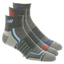 New Balance N674-3 Performance Ankle Socks 3-Pack (Men's)