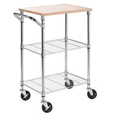 2-Shelf Urban Rolling Cart