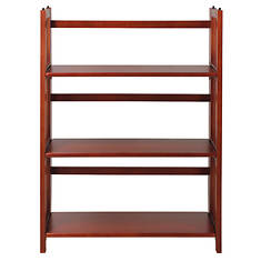 "Casual Home 27.5"" 3-Tier Folding Bookcase"
