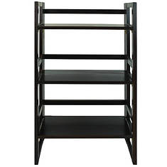 "Casual Home 20.75"" 3-Tier Folding Bookcase"
