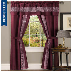 Fairfield Window Set - Burgundy