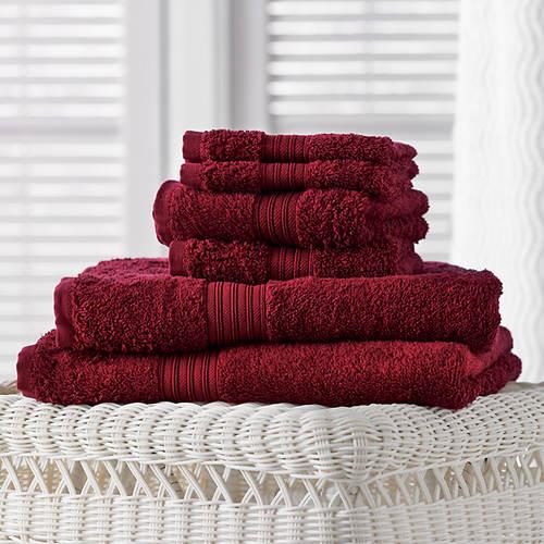 6-Piece Egyptian Cotton Towel Set
