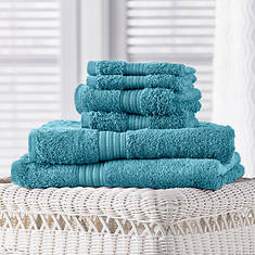 6-Piece Egyptian Cotton Towel Set