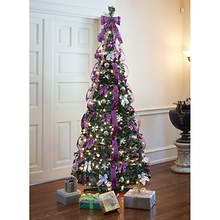 6' Pop-Up Pre-Lit/Pre-Decorated Tree