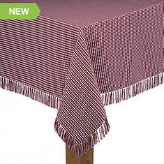 """Homespun Table Linen - 60"""" x 102"""""""