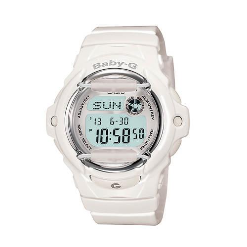 Casio Baby G Gloss White Jelly Watch