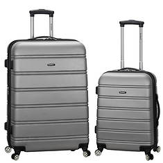 Rockland 2-Piece Expandable ABS Spinner Set