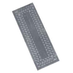"""Herringbone Rug - 27"""" x 45"""" - Charcoal"""