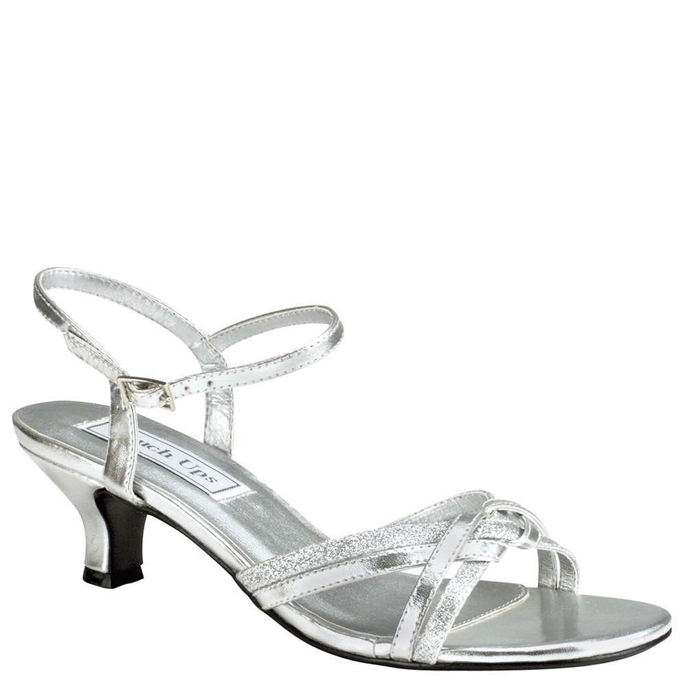 Touch Ups Melanie Women's Silver Sandal 10.5 W -  adult