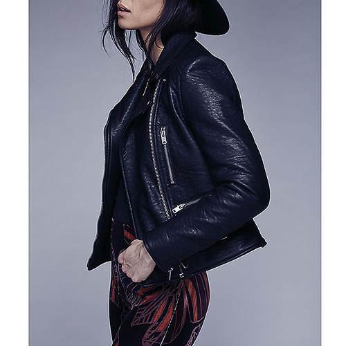 Free People Women's Soho Vegan Leather Jacket