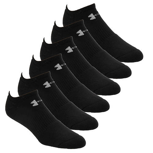 Under Armour Men's Charged Cotton 2.0 No-Show Sock