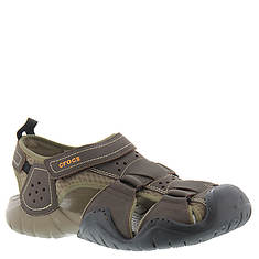 Crocs™ Swiftwater Leather Fisherman (Men's)