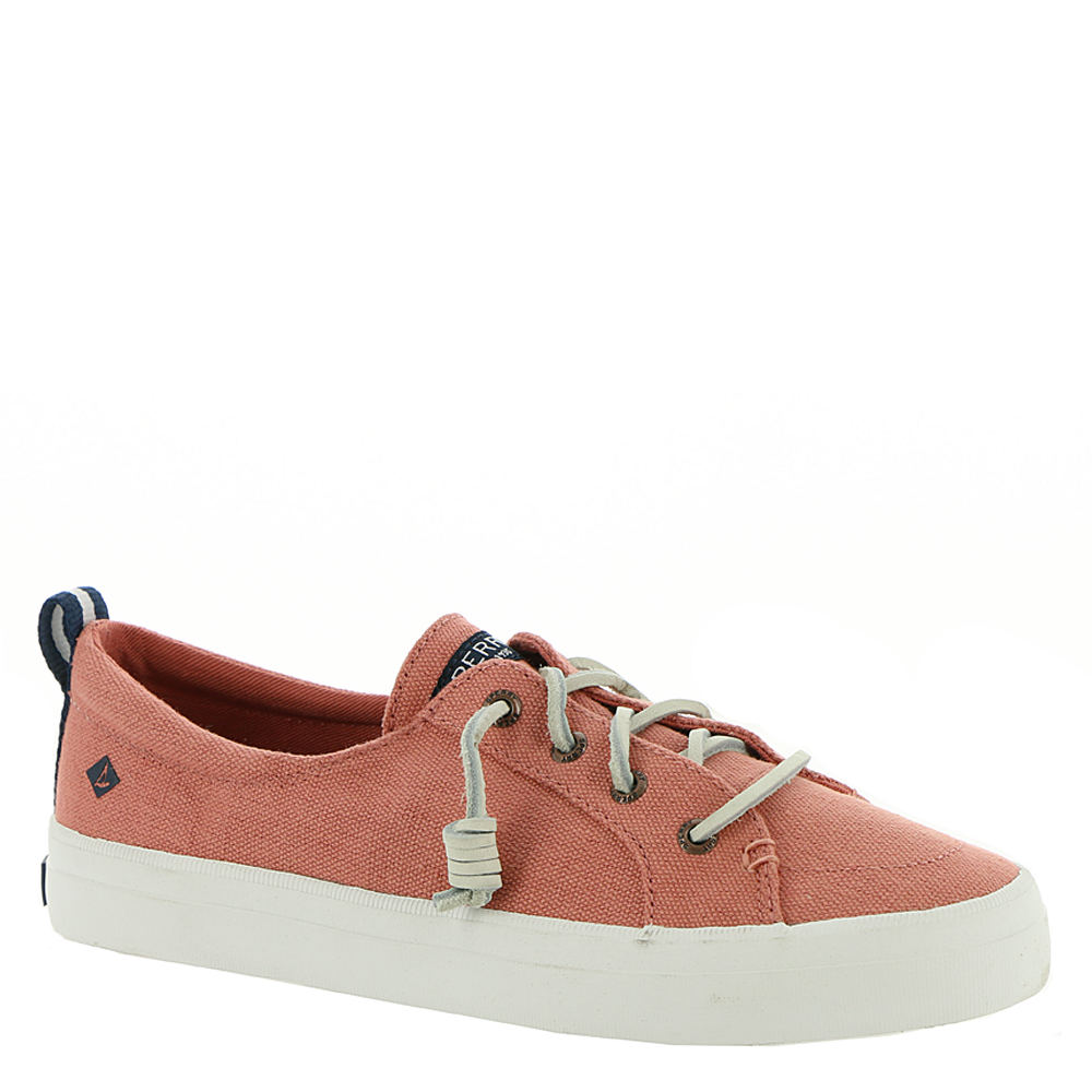 *This style proves that nobody does the boat shoe trend quite like Sperry Top-Sider *Style-savvy canvas upper with rawhide accent lacing *Slip-on style *Removable molded footbed with arch support *Vulcanized non-marking rubber outsole