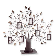 Tree of Life with 6 Hanging Wallet-Size Frames