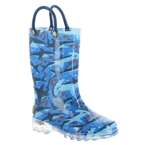 Western Chief Shark Chase Lighted (Boys' Toddler-Youth)