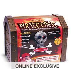 Melissa & Doug Wooden Pirate Chest