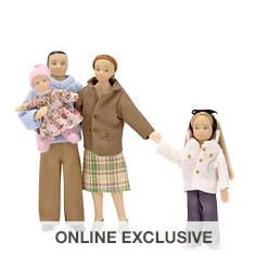 Melissa & Doug Victorian Doll Family - Caucasian
