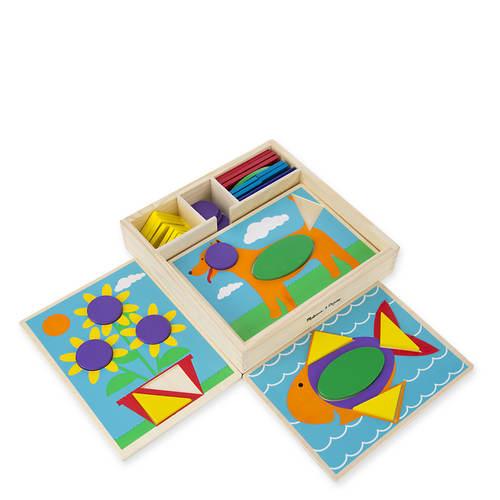 Melissa & Doug Beginner Pattern Blocks | Figi's Gallery