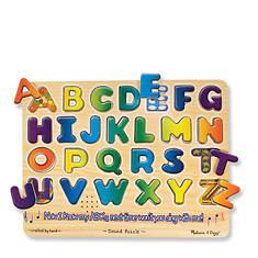 Melissa & Doug Alphabet Sound Puzzle - 26 Pieces