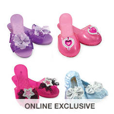 Melissa & Doug Role Play Collection - Step in Style! Dress-Up Shoes