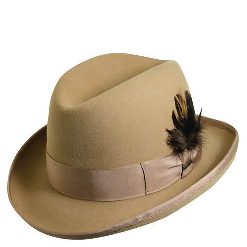 Scala Classico Men's Felt Homburg Hat