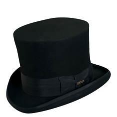 "Scala Classico Men's Felt 7"" Top Hat"