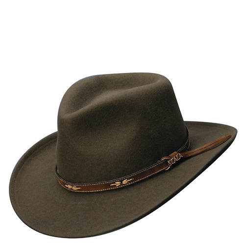 Scala Classico Men's Crushable Outback SW Band Hat