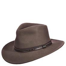 Scala Classico Men's Crushable Outback Felt Hat