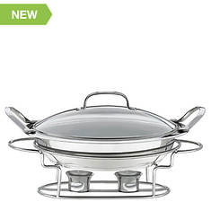 "Cuisinart Stainless Steel 11"" Round Buffet Server"