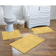 Serene 3-Piece Bath Rug Set